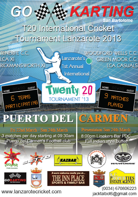 Lanzarote Cricket Association International Twenty 20 Tournament
