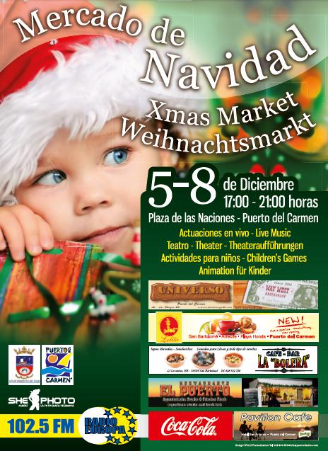 Christmas Market, Puerto del Carmen 5th – 8th December 2011