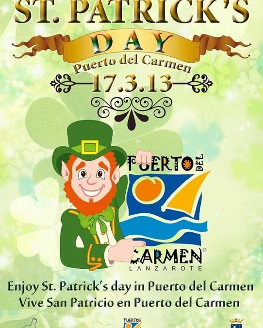 St Patricks Day Award for Puerto del Carmen
