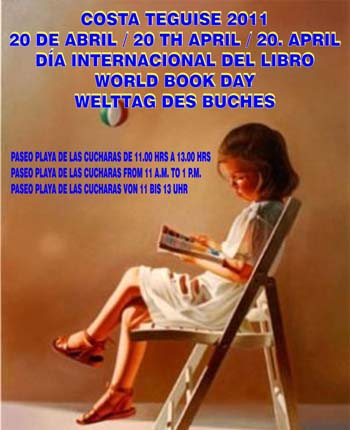 World Book Day in Costa Teguise