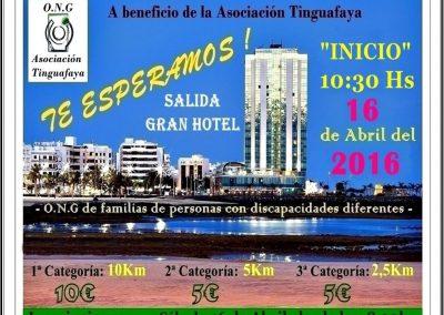 Sponsoring Asociacion Tinguafaya Charity Run