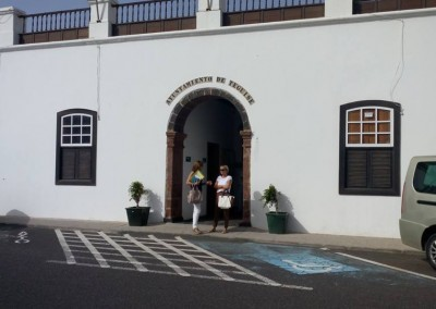 Working at Teguise Ayuntamiento