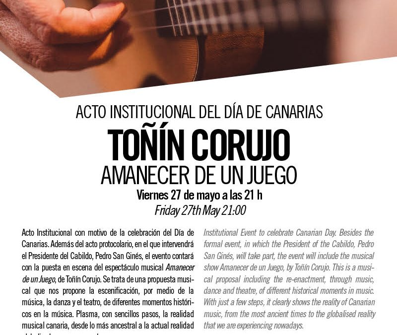 Traditional Canarian music with Toñin Corujo