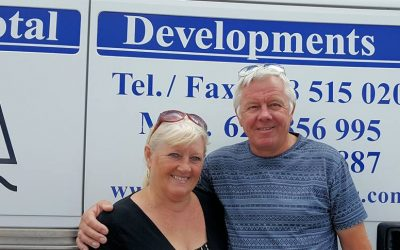 "This month's member interview: Linda and Richard Barrie from Property and Maintenance Company ""Total Developments"""