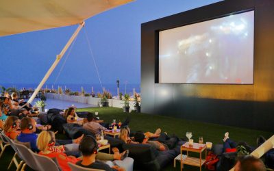 Big success for Starlight Open Air Cinema Lanzarote opening night