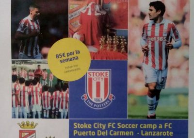 Stoke City FC Soccer camp
