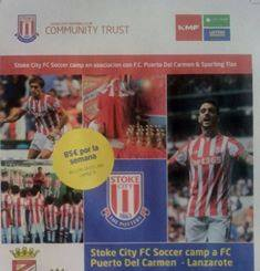Stoke City FC soccer camp for kids arrives again in Lanzarote this August