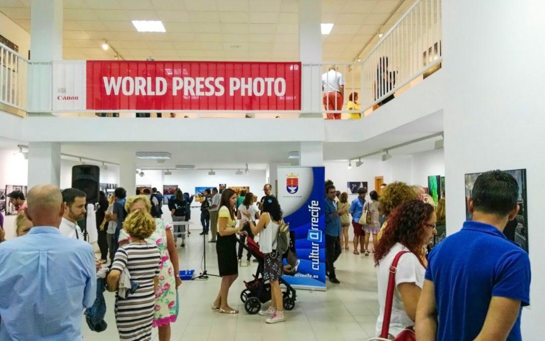World Press Photo Contest 2016 exhibition launched in Arrecife, Lanzarote