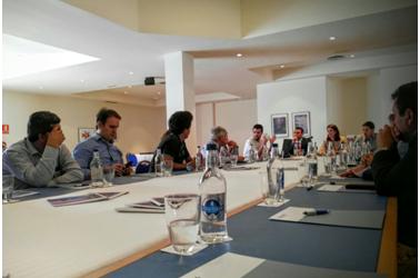 Meeting with María Teresa Lorenzo, consejera de Turismo del Gobierno de Canarias