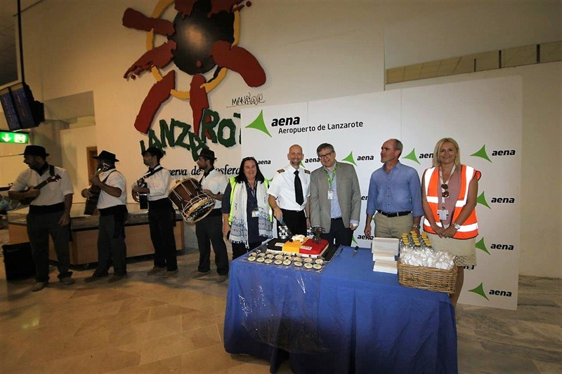 Lanzarote launches a new route with Belgium,