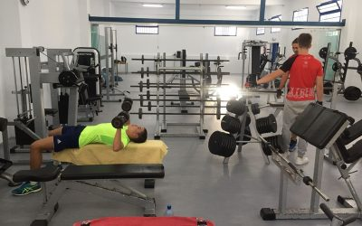 Arrieta gym reopens