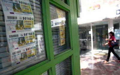 Lucky lottery winner in Lanzarote