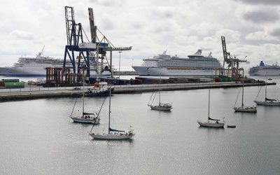 The Port of Arrecife registered 224 stopovers and 422,159 passengers in 2017