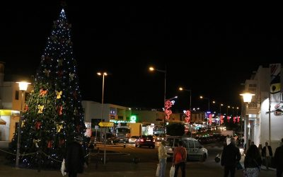 Christmas illuminations for Yaiza