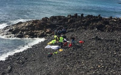 Several drowned after arriving in Patera to Costa Teguise
