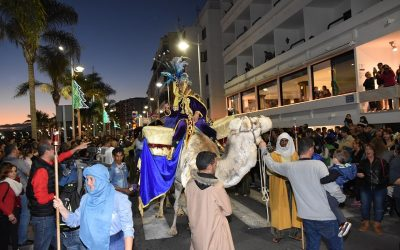 The Three Kings fill the streets of the capital with magic and illusion