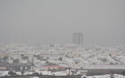 Calima arrives in Lanzarote