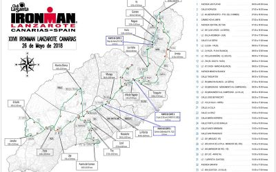 know all the routes that will allow you to ride this Saturday during the Ironman