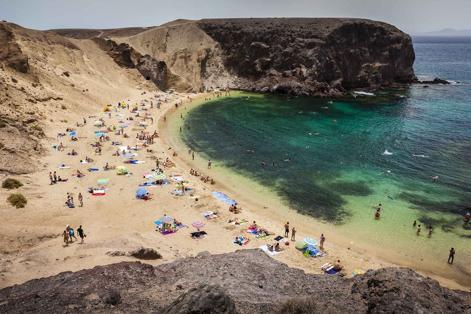 Papagayo among the fifteen best coves in Spain