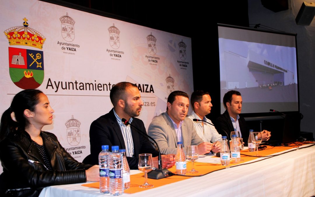 Óscar Noda presents how the Playa Blanca Sports Complex will be