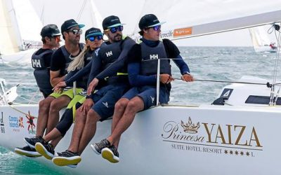 New J80 world title for the Hotel Pricesa Yaiza by Rayco Tabares