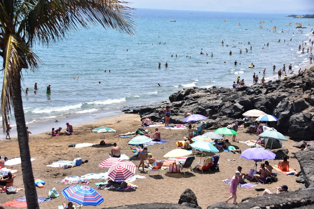 The heat continues in Lanzarote