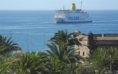 Las Palmas and Arrecife will be linked by four daily sea routes