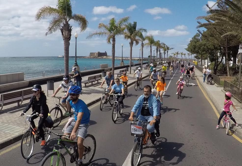Arrecife moves in a sustainable way