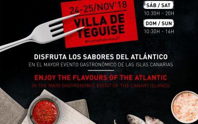 VIII Festival Enogastronómico Saborea Lanzarote – 24 y 25 de noviembre de 2018