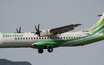 Binter offers a new Bintazo with flights from 9.98 euros.