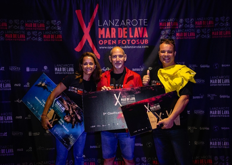Watch the video of the awards ceremony of the Open Fotosub Lanzarote