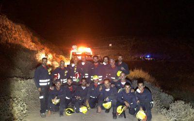 Lanzarote fire extinguished