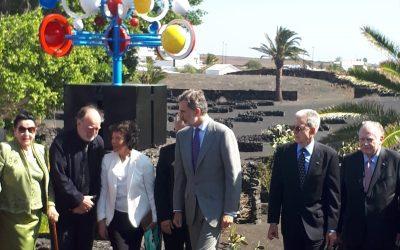 Felipe VI already 'reigns' in the FCM