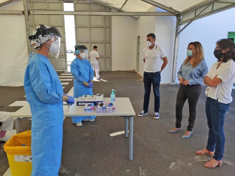 PCR Testing in Arrecife