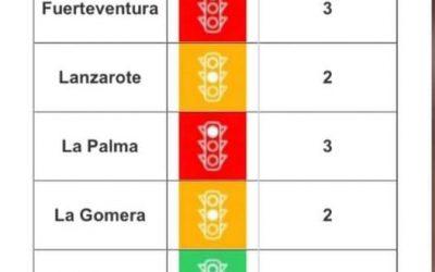 Lanzarote remain at level 2