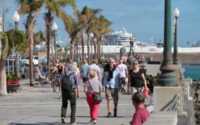 Thanks to LANCELOT DIGITAL- Lanzarote received less than 160,000 tourists in the first half of 2021