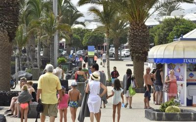Tourist spending increased 102% in Lanzarote in the second quarter of the year